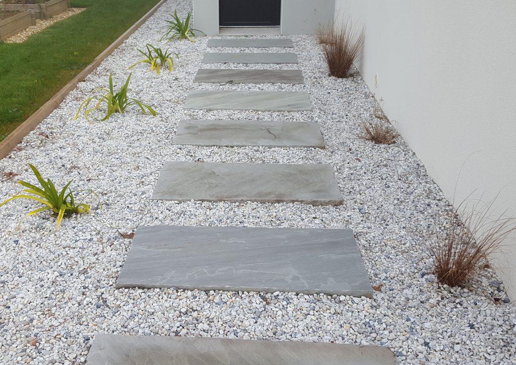 Pavé japonais grès. Jardins des 4 Saisons. Guer, Ploërmel, Redon, Plélan-Le-Grand, Maure de Bretagne