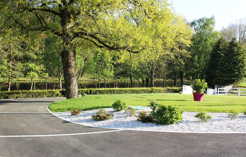 Enrobé . Jardins des 4 Saisons. Guer, Ploërmel, Redon, Plélan-Le-Grand, Maure de Bretagne